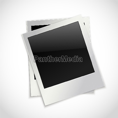 photo frames retro instant picture black