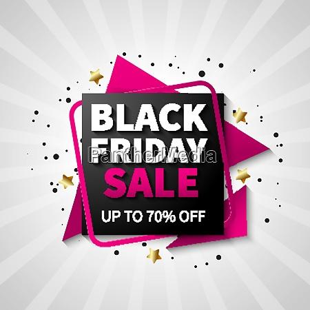 colorful black friday sale design for