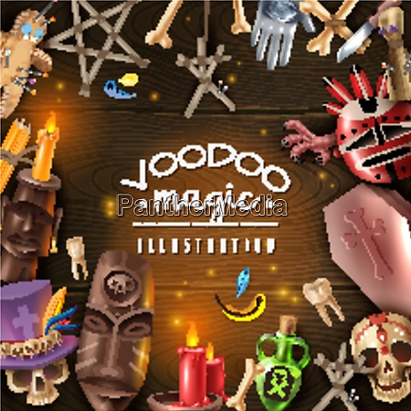 voodoo cult mystery magical objects attributes