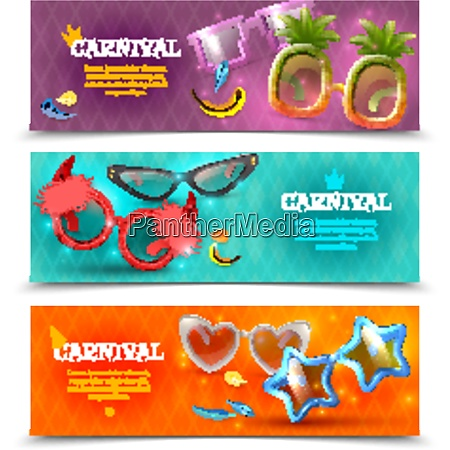funny carnival party costume eye glasses