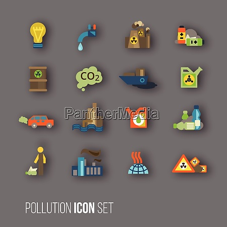 radioactive and carbon dioxide toxic waste