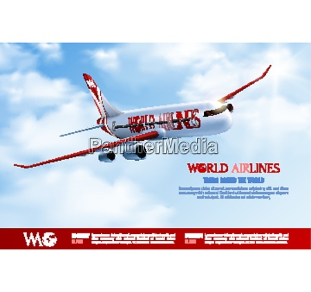 tours around world advertising poster with
