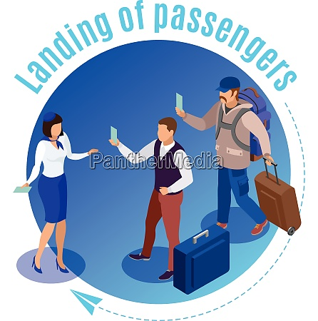 travel people round background illustrated airport