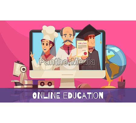 online learning education with international recognized
