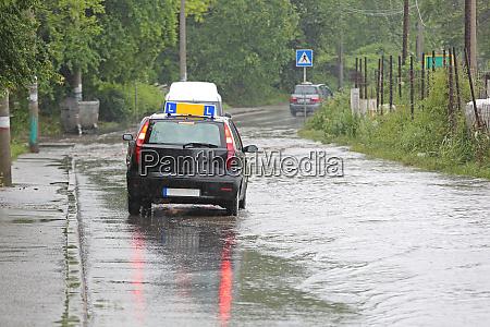 driving school floods