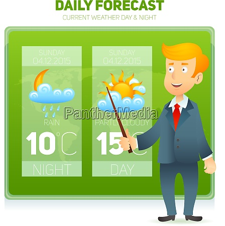 tv weather prediction forecast male news