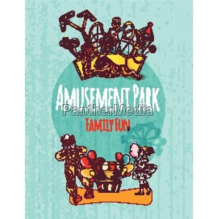 amusement park circus festival family fun
