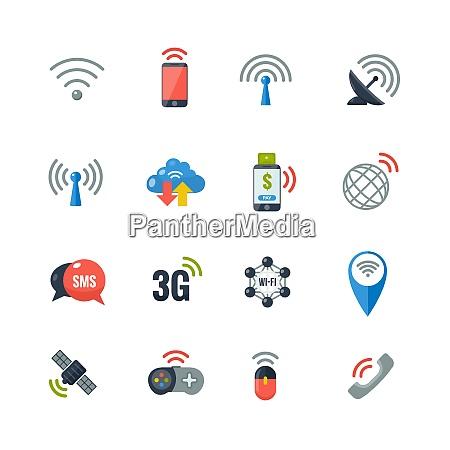 wireless communication information transfer technology flat
