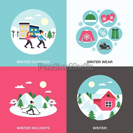 winter holidays and outdoor clothing 4