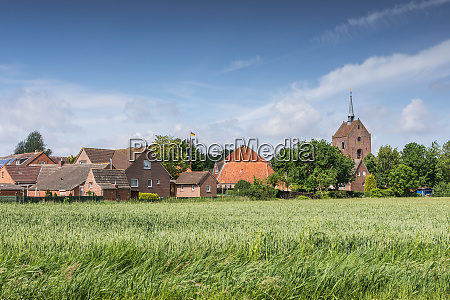 a typical village in eastern frisia