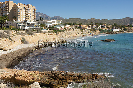 coast near el campello spain