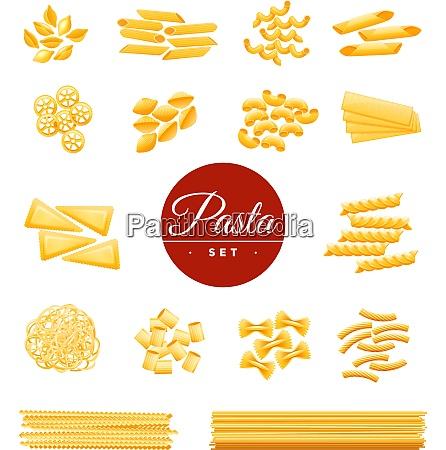 italian traditional cuisine dry pasta varieties