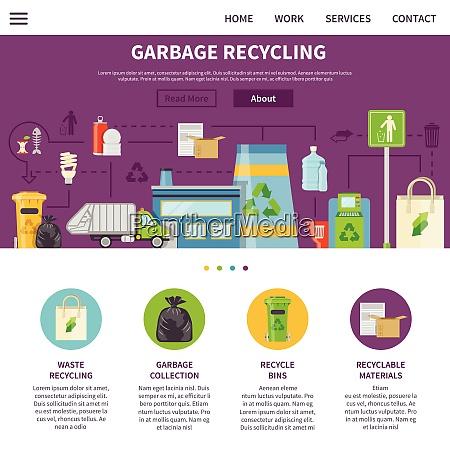 garbage recycling symbolsgarbage recycling presentation