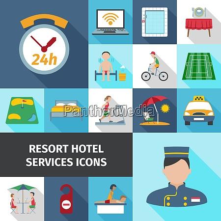 hotel and resort services staff restaurant