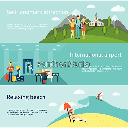 tourists at international airport and relaxing