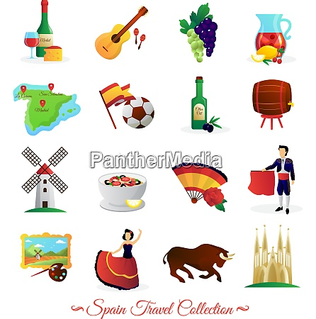 tourists attractions in spain and national
