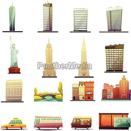 new york city buildings landmarks tourists