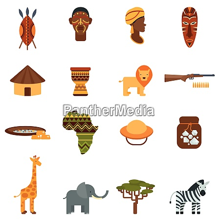 african natural world and culture black