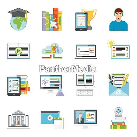 online education e learning it electronic
