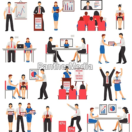 business training set with consulting service