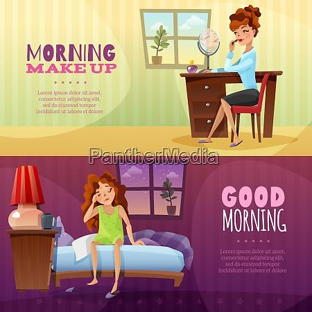 good morning and morning make up