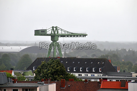 crane in bremerhaven