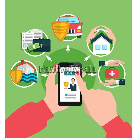 insurance services buying online including assurance
