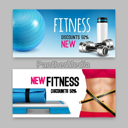 fitness club accessories discount advertisement 2