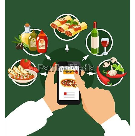 italian cuisine et of popular dishes