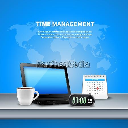 blue, time, management, realistic, composition, the - 27201544