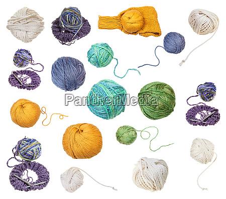 skein of greenish yellow yarn with