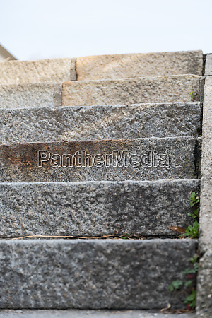 stone stairs frontal view