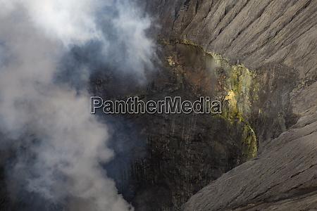 sulfur volcano