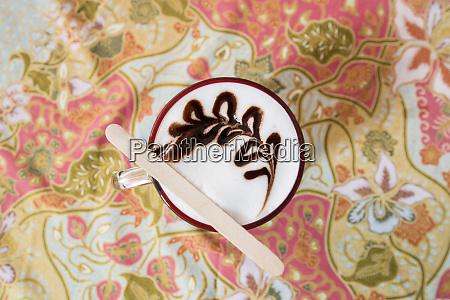 thailand chanthaburi cafe cappuccino