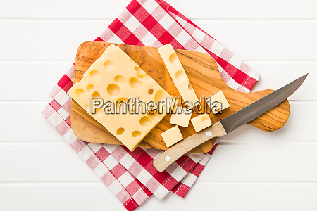 block of tasty cheese