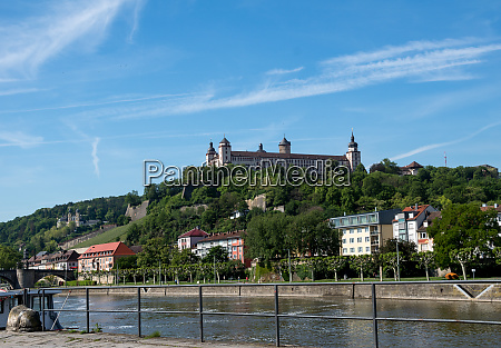 fortress marienberg with the river main