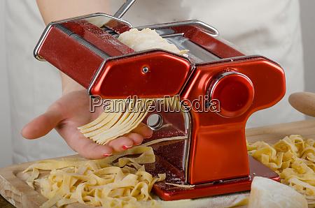 chef production pasta italian pasta