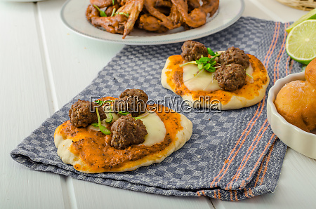 sports feast chicken wings vegetable