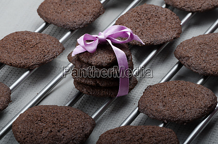 dark chocolate biscuits
