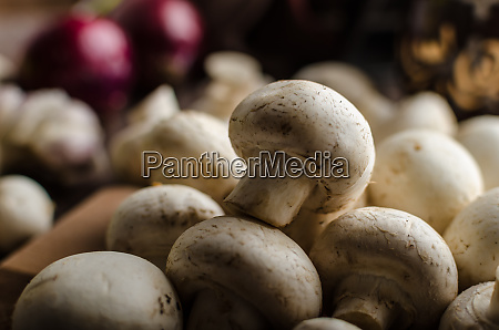 mushrooms raw home grown