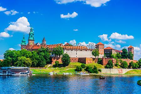 view of wawel castle in krakow