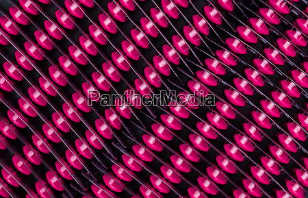 top view of pink tablet pills