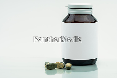 vitamins supplements and minerals dual layer