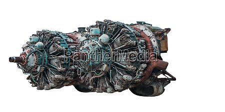 9 cylinder radial engine of old