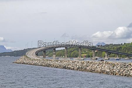 bridge construction art in norway