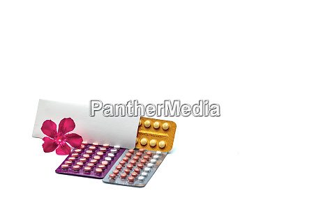 contraceptive pills or birth control pills