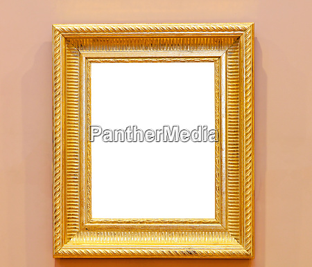 gold frame wall