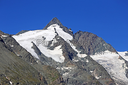 grossglockner with 3798 m height the