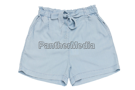 summer shorts isolated closeup of a