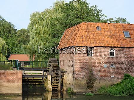 water mill near the dutch city